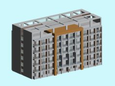 School building 151 3D Model