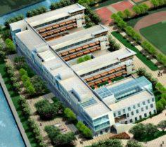 School building 106 3D Model