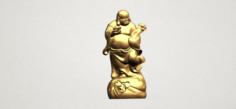 Metteyya Buddha 04 3D Model