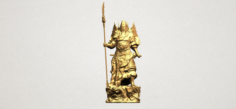 Guan Gong 01 3D Model