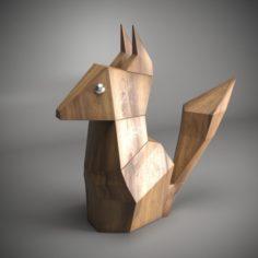 WOODY CHIPMUNK 3D Model