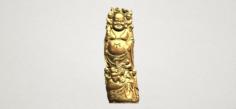 Metteyya Buddha 02 3D Model