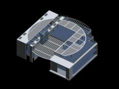 School building 139 3D Model