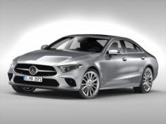 Mercedes Benz CLS Class 2018 3D Model