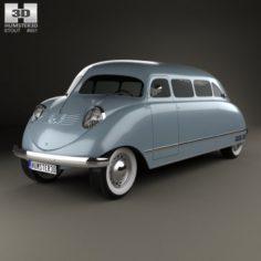 Stout Scarab 1936 3D Model