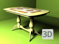 3D-Model  table Alt 74-11