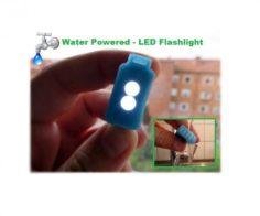 WATER POWERED – LED FLASHLIGHT Free 3D Model