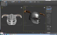 Viking helmet-3d print model 3D Model