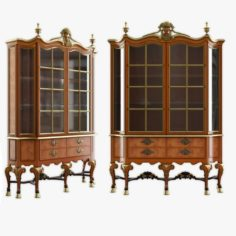 CABINET OF QUEEN ANNE STYLE 3D Model