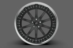 Work VS-FX Wheel High Poly 3D Model