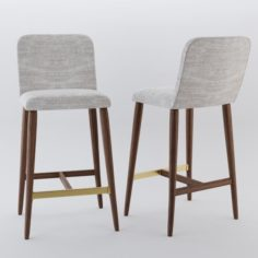 Luxe stool 3D Model