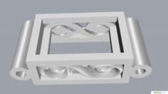 Bracelet links Free 3D Model