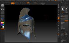 Greek helmet-3d print model 3D Model