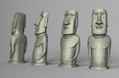 Moai statue – Easter Island 3D Model