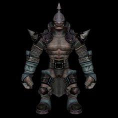 Monster Character 05 3D Model