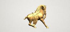 Horse 03 3D Model