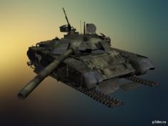 T-80 3D Model