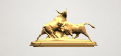 Bull 03 3D Model