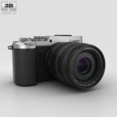 Panasonic Lumix DMC-GX8 Silver 3D Model