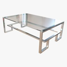 Coffee Table Marco Lareto 3D Model