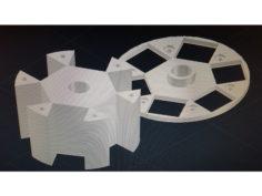 Permanent Magnet Motor/Generator Rotor  3D Print Model
