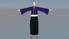 Samurai Japan 3D Model
