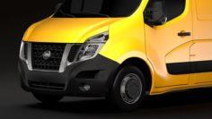 Nissan NV 400 L2H2 Van 2017 3D Model