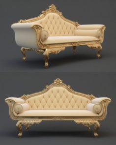 Wedding sofa cnc 3D Model