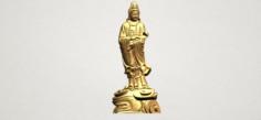 Avalokitesvara Buddha – Standing 04 3D Model