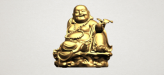 Metteyya Buddha 06 3D Model