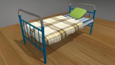 Bed Soviet 3D Model