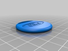 Small simple ford keyring 3D Print Model