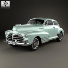 Chevrolet Fleetline 2-door Aero Sedan 1948 3D Model