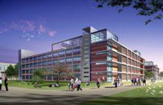 School building 072 3D Model