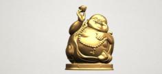 Metteyya Buddha 07 3D Model
