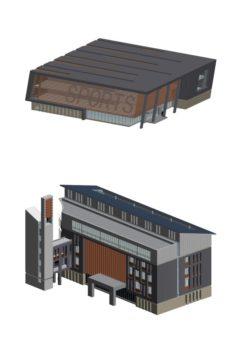 School building 134 3D Model