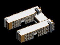 School building 138 3D Model