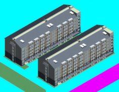 School building 038 3D Model