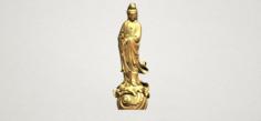 Avalokitesvara Buddha – Standing 01 3D Model