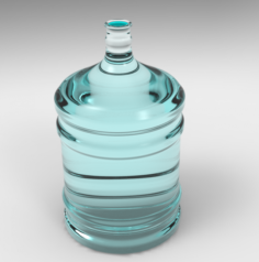Plastic Carboy 3D Model