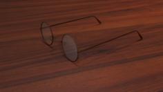 Vintage Eyeglasses 3D Model