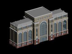 School building 145 3D Model