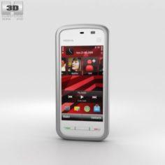 Nokia 5230 White 3D Model