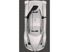 Ferrari FXX pencil holder 3D Print Model