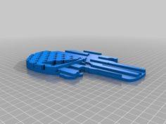 punisher keychain 3D Print Model