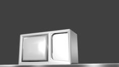 Classic tv Free 3D Model