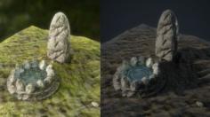 Fantasy Well 3D Model