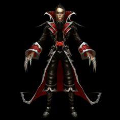 Vampire Monster Character 3D Model