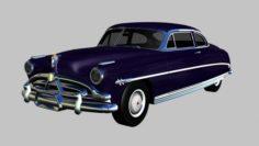Hudson Hornet 1952 3D Model