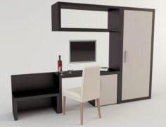 Hotel Furniture 3D 3D Model